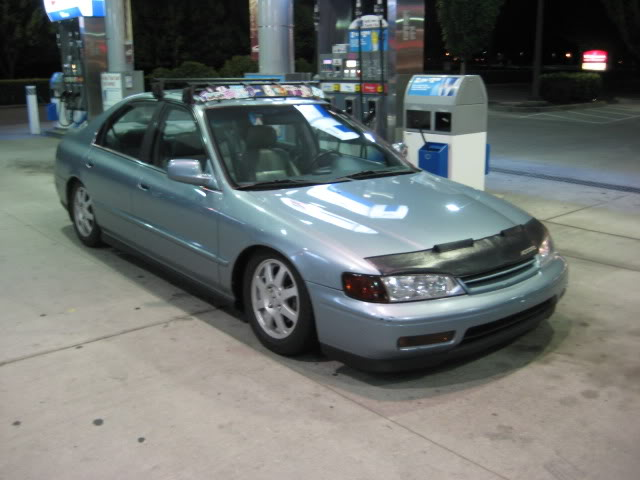 02 Honda Accord with Rims