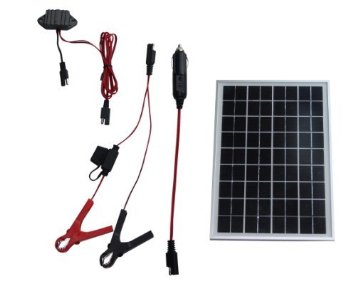 12 Volt Solar Panel Battery Charger