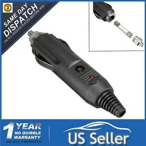 12V Car Cigarette Lighter Male Plug Socket