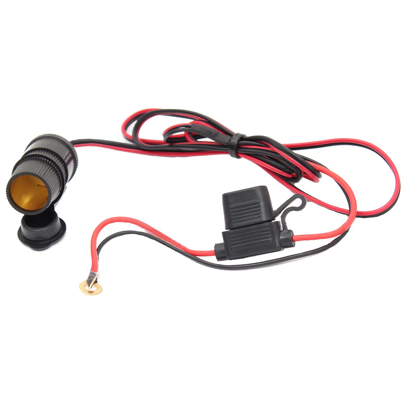 12V Cigarette Lighter Power Adapter