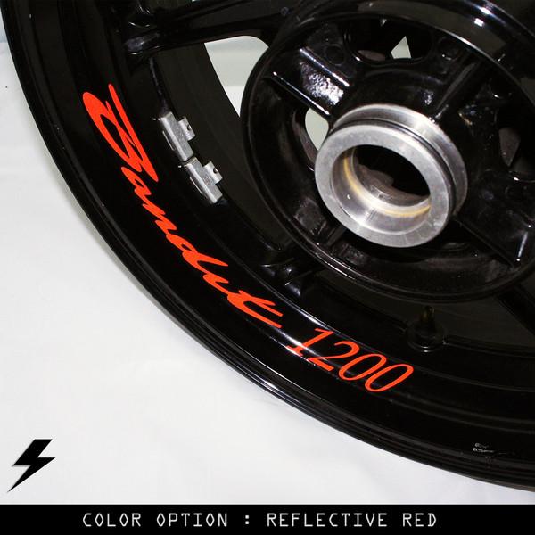 12x Suzuki GSXR 600 750 1000 Rim Tape Decal Motorcycle Stickers Vinyl