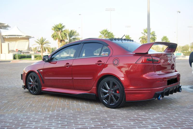 """18"""" Alloy Rims from Mitsubishi Lancer EX  GT (Filipino Owner"""