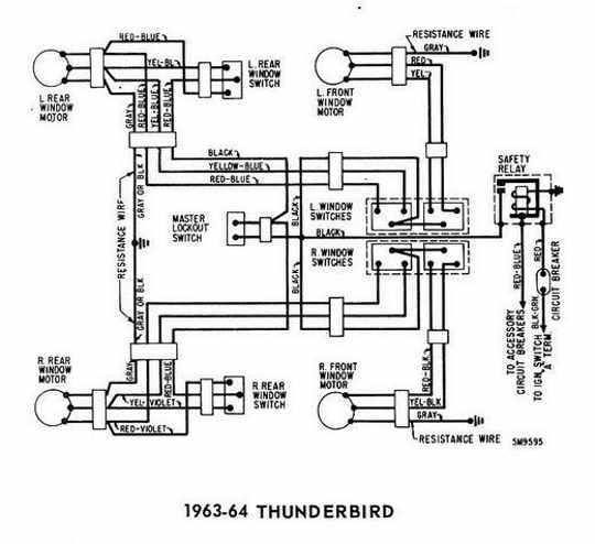 1964 ford thunderbird wiring wiring diagrams Toro Zero Turn Wiring-Diagram SS5060 1964 thunderbird ac wiring wiring diagram