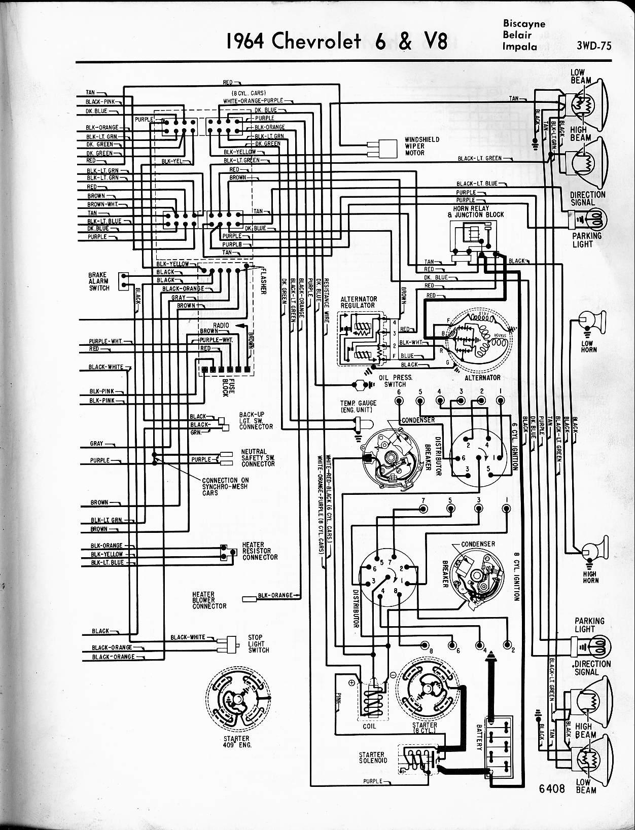 Wrg 4274wiring Schematic 1964 Chevy Impala Turn Signal Switch 1963 Ford Wiring Diagram