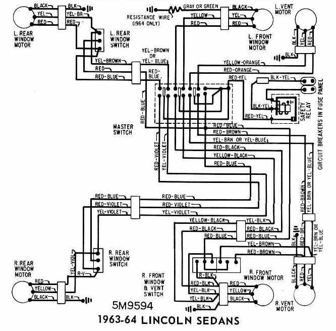 1964 lincoln continental wiringdiagram oNUJNZK lincoln wiring diagrams 1949 lincoln wiring diagram \u2022 free wiring Ford Alternator Wiring Diagram at fashall.co
