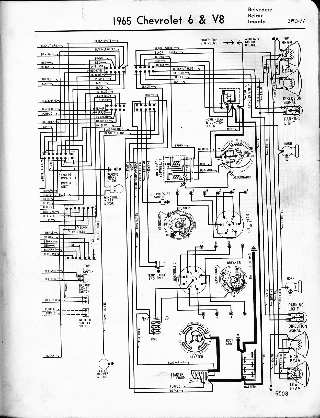 chevy truck underhood wiring diagrams chuck's chevy truck pages C70 Wiring Diagram  71 Ford Truck Wiring Diagram Wildcat Wiring Diagram G Body Wiring Diagram