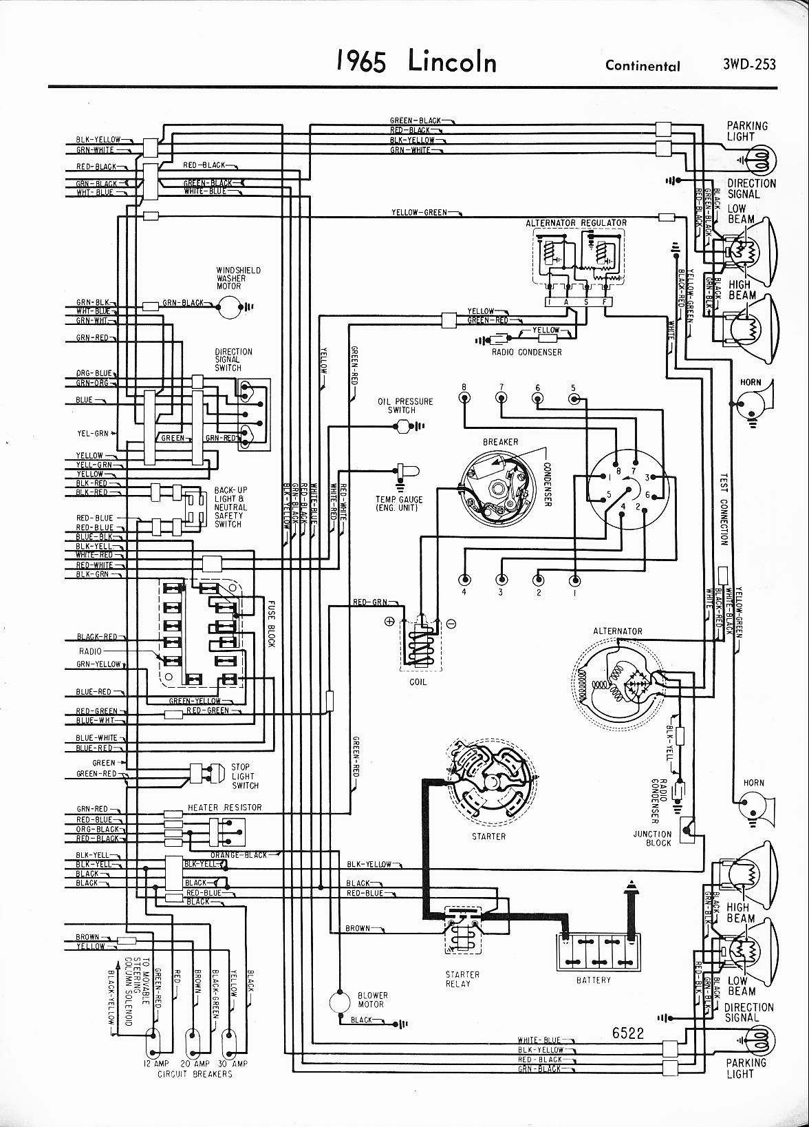 1965 lincoln continental wiring diagrams - image details, Wiring diagram