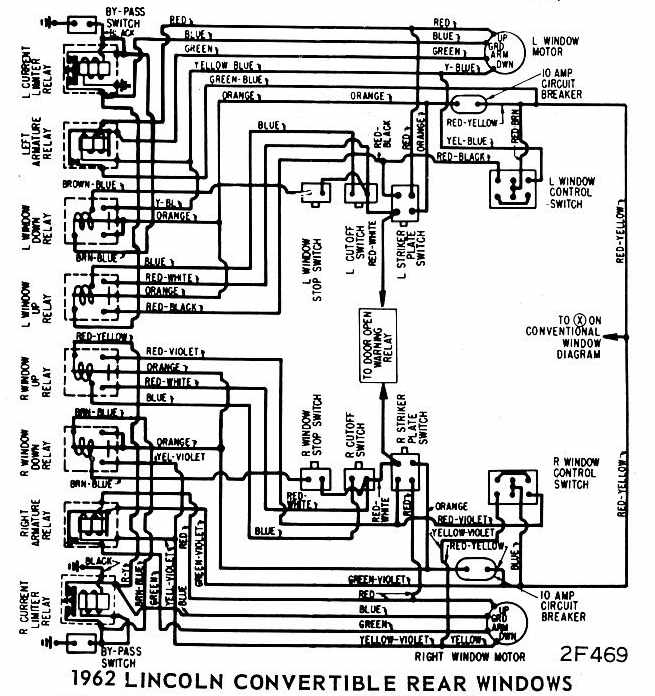 1965 lincoln continental fuse box 1966 lincoln continental convertible wiringdiagram image details  1966 lincoln continental convertible
