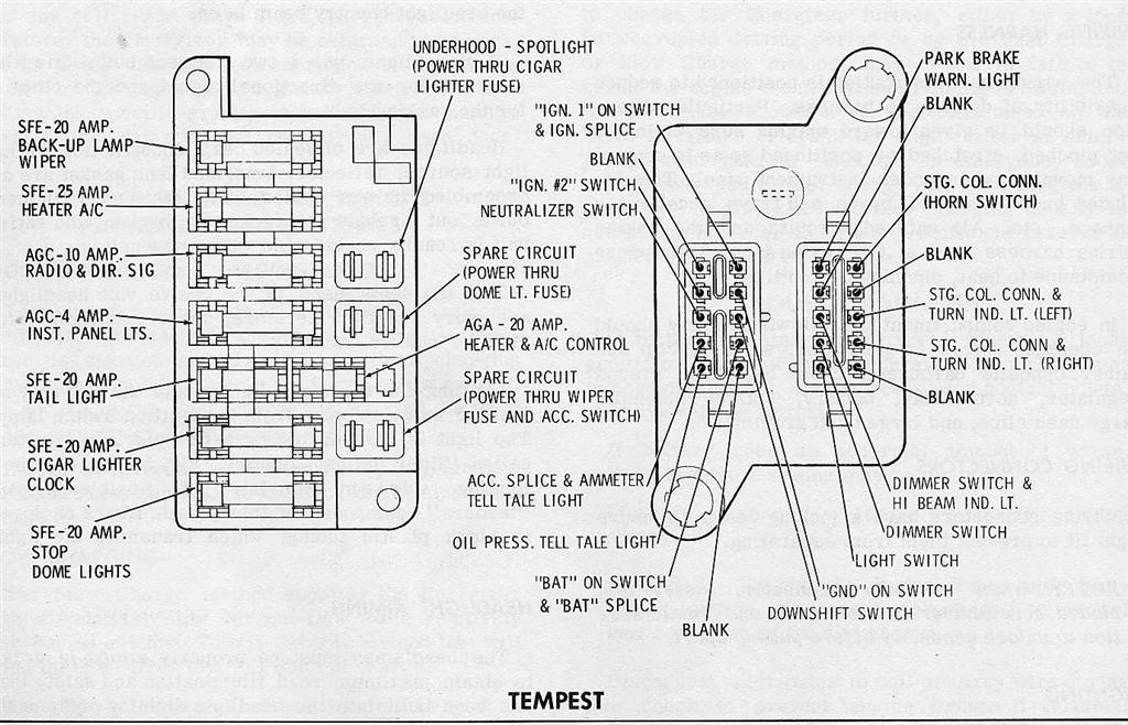 Pontiac G6 Fuse Box Layout on 67 vw color chart