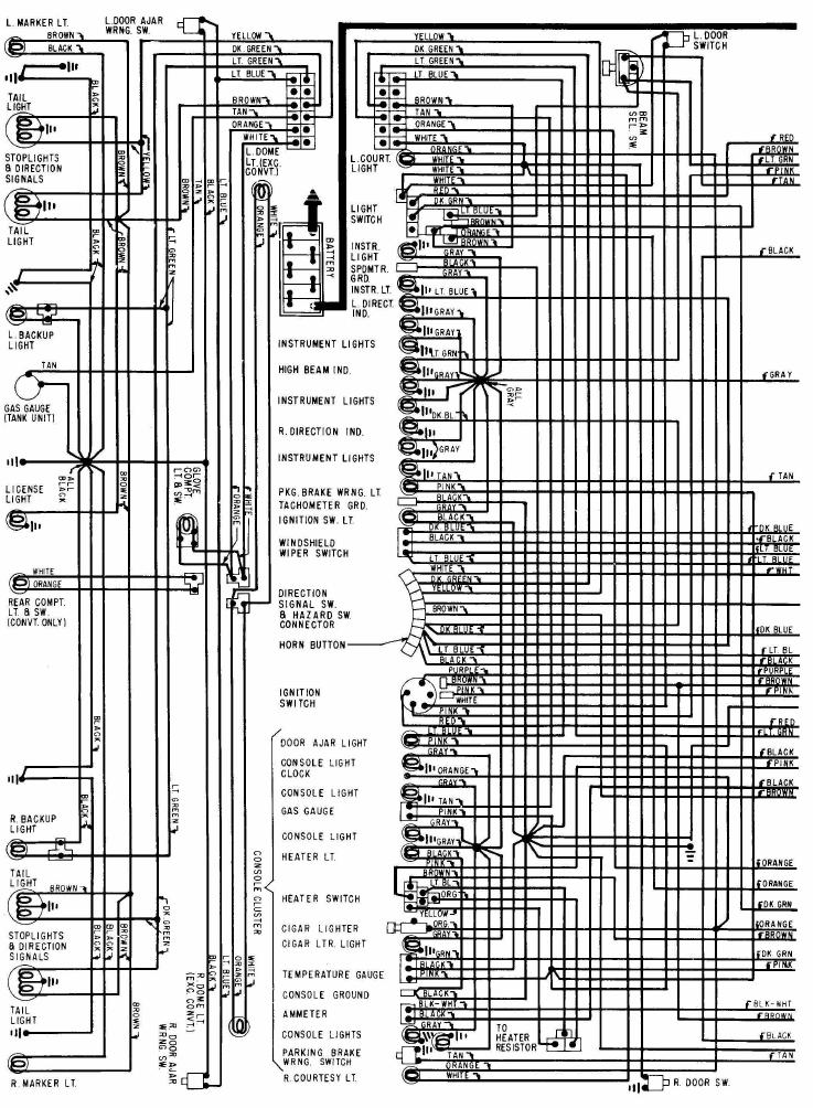 1974 corvette wiring diagram - all wiring diagram and wire schematics, Wiring diagram