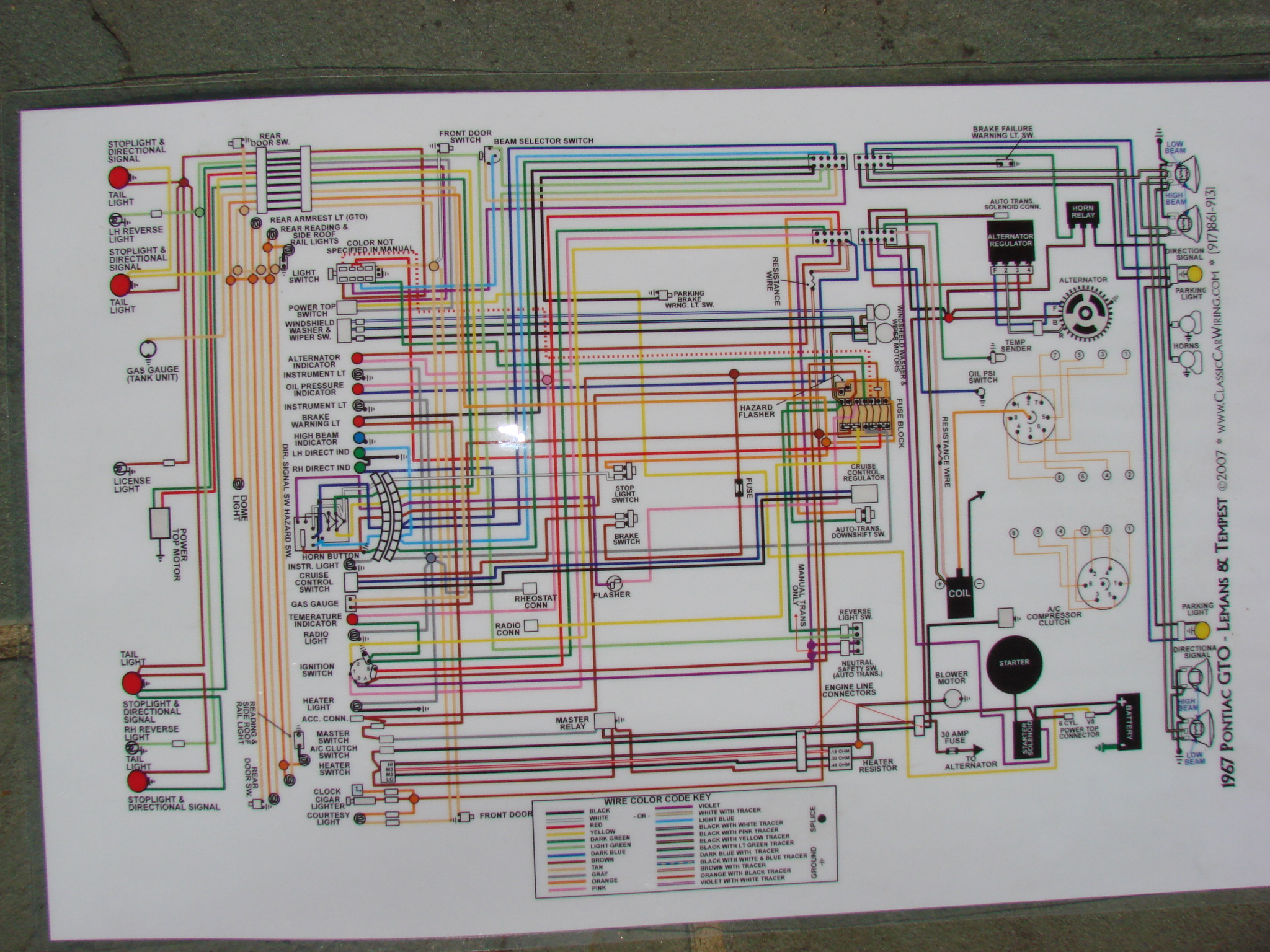 2006 gto wiring diagram wiring diagram general 1968 Pontiac GTO Dash Wiring Diagram