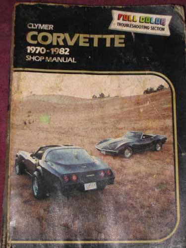 1970 Corvette Owners Manual