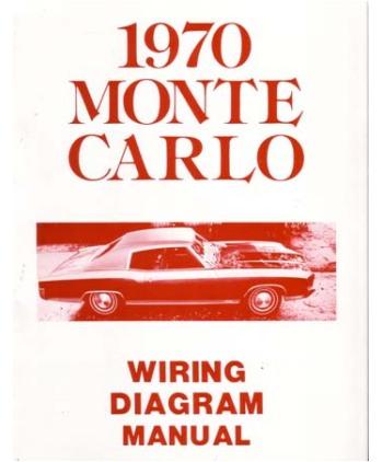 1970 Monte Carlo Wiring Diagram