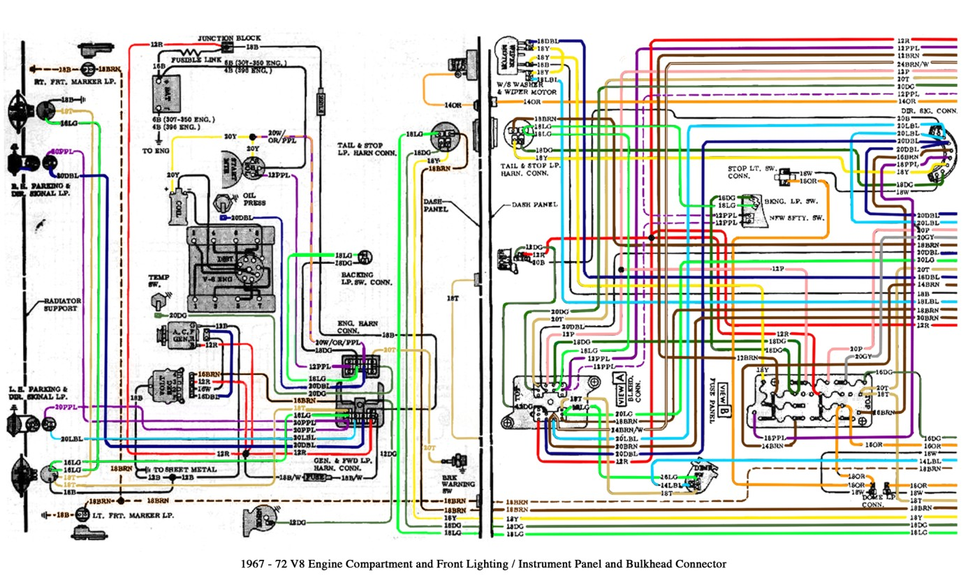 1970 c10 wiring harness schematic wiring diagram 1987 Chevy C10 Wiring Harness