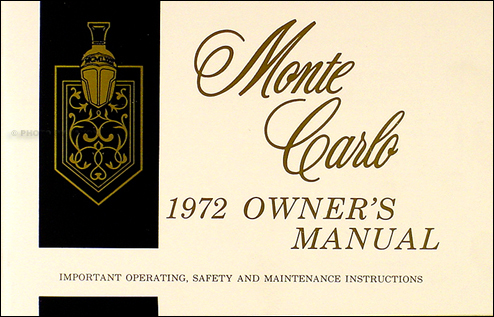 1972 Monte Carlo Wiring Diagram
