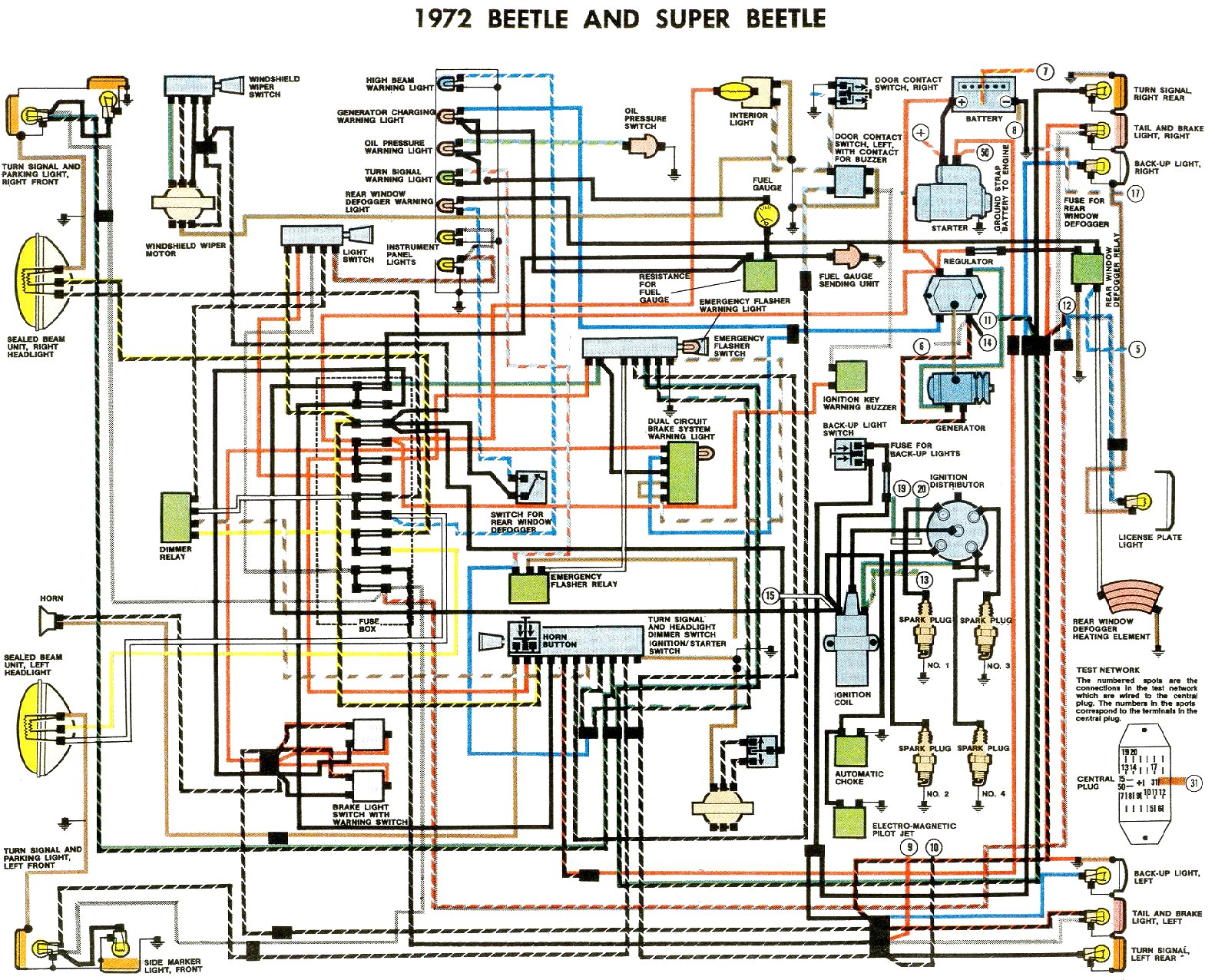 1971 vw wiring vw super beetle wiring harness image details  vw super beetle wiring harness image