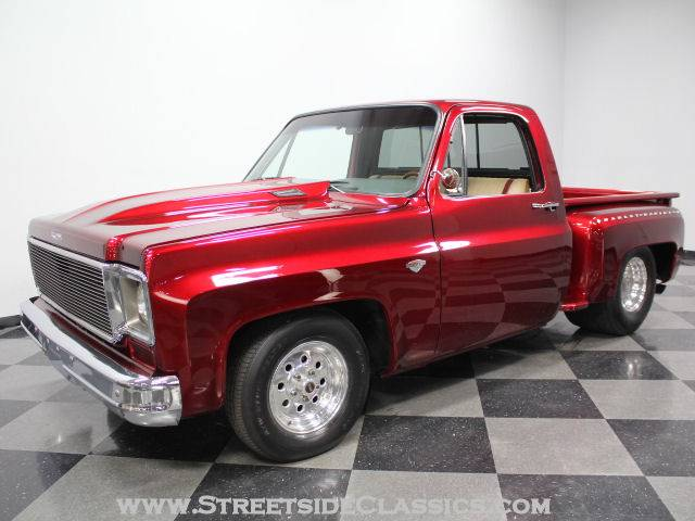 1976 chevy c10 pickup truck