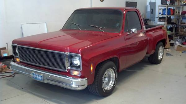 1976 Chevy C10 Stepside