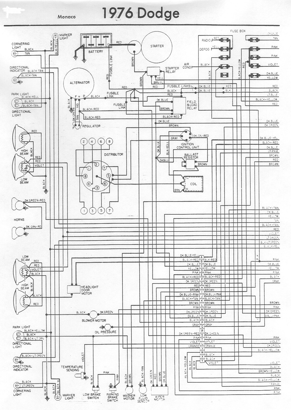1978 dodge ignition wiring diagram 78 dodge truck distributor wiring diagram. 78. free printable wiring diagrams database 1978 dodge ramcharger wiring diagram