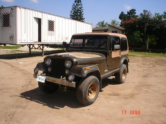 1977 Jeep CJ7 Golden Eagle
