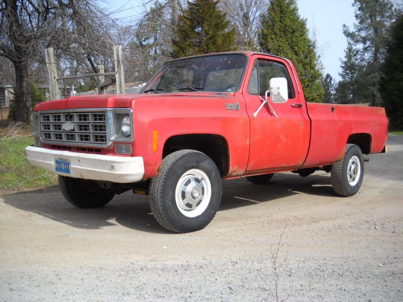 1978 Chevy 3 4 Ton 4x4 for Sale - image details