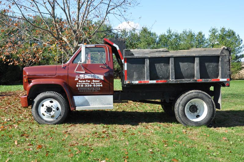 1978 Chevy Dump Truck