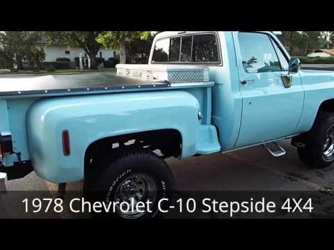 1978 Chevy Stepside 4x4 Trucks