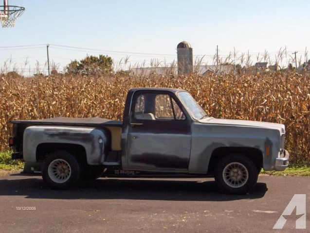 1978 Chevy Stepside Truck Bed