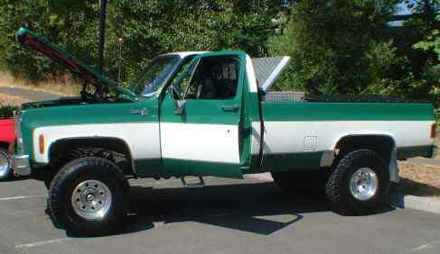 1978 chevy truck 4x4