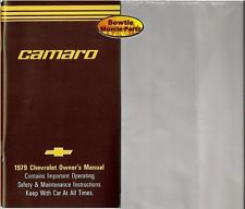 1979 79 Camaro Factory Owners Manual with Storage Bag
