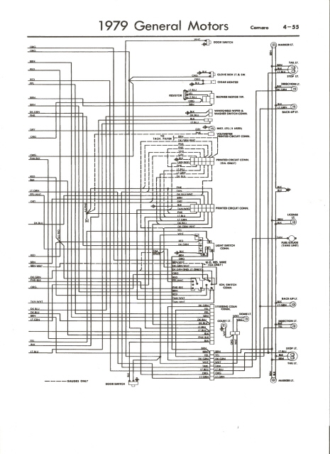 Enjoyable 79 Camaro Wiring Schematic Wiring Diagram Data Schema Wiring Cloud Mangdienstapotheekhoekschewaardnl