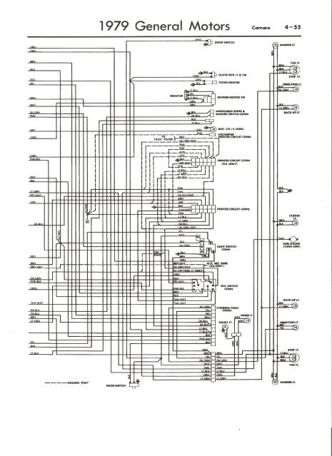 79 camaro fuse box diagram circuit wiring and diagram hub u2022 rh bdnewsmix com 1981 Camaro Fuse Panel For 1979 Camaro Fuse Block