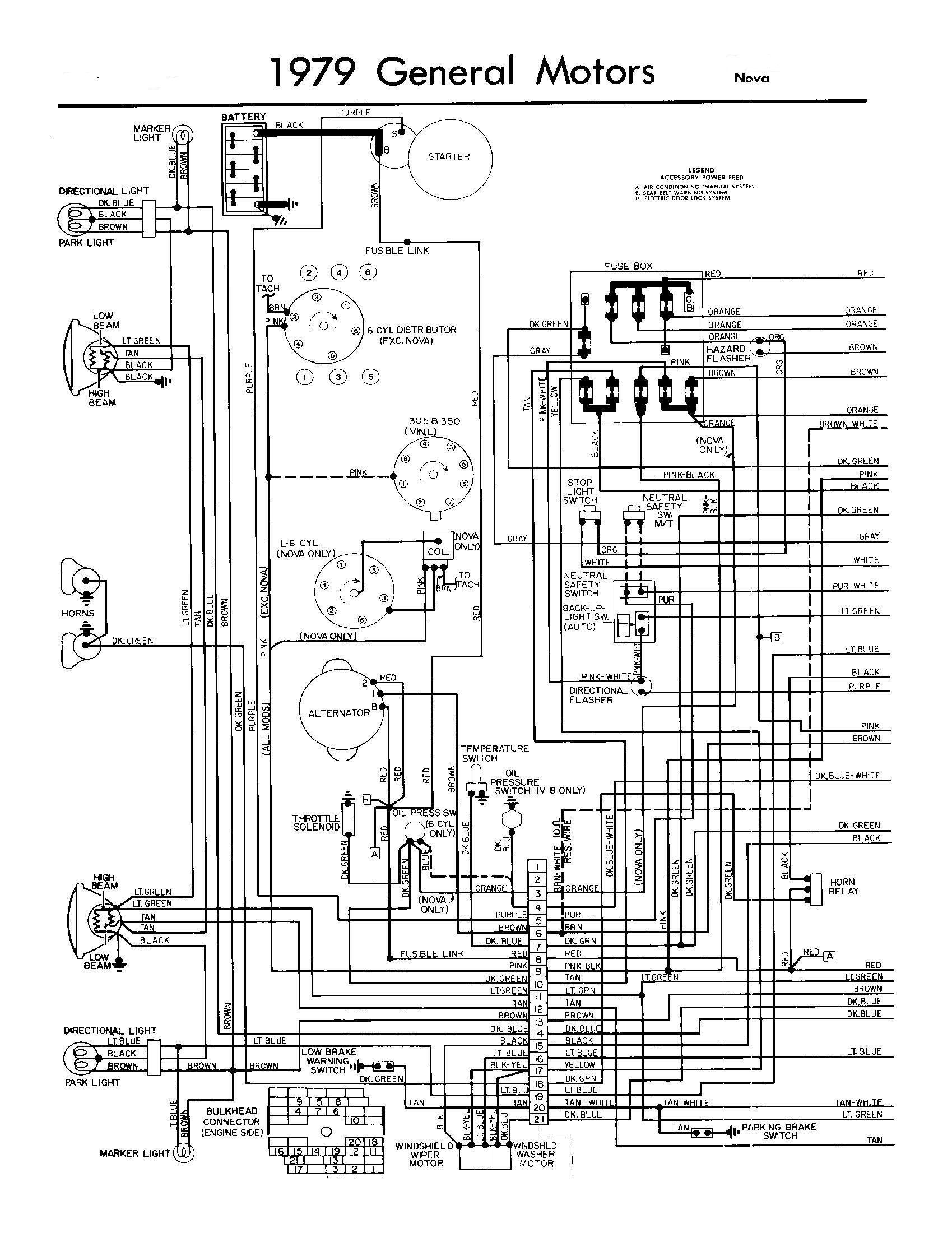 1979 chevy nova wiring diagram image details rh motogurumag com 76 Nova Wiring Diagram 3-Way Switch Wiring Diagram