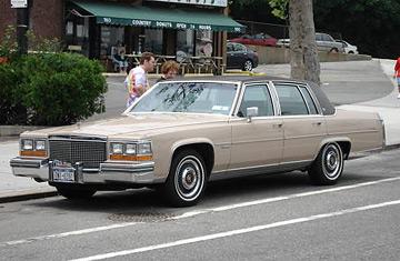 1981 Cadillac V8 6 4