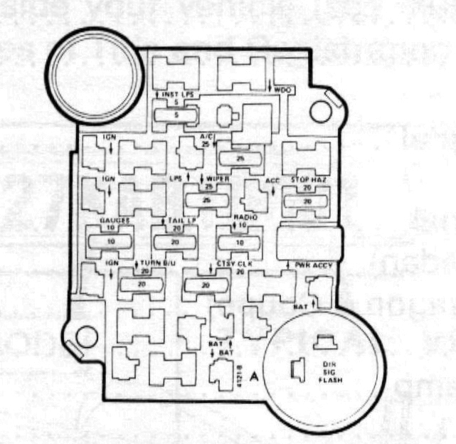 84 chevy truck fuse diagram wiring diagram  84 chevy c10 fuse box #13