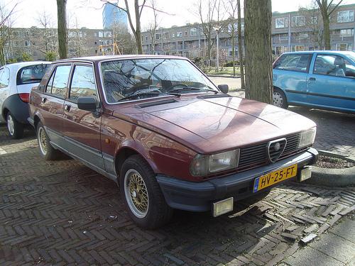1982 Alfa Romeo Giulietta 2.0   21 March 2010, Delft, Nether