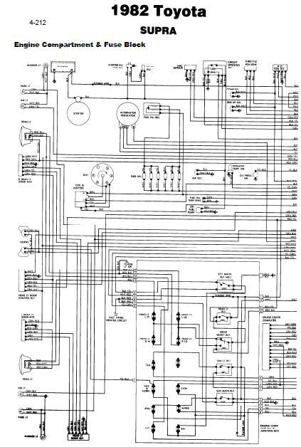 81 toyota electrical diagram fuse box