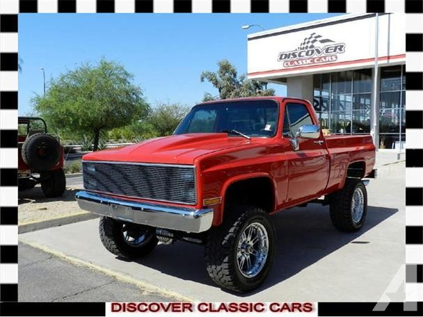 1984 Chevy C10 Truck 4x4 Lifted
