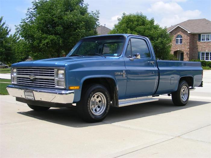 1984 Chevy C10 Two Tone