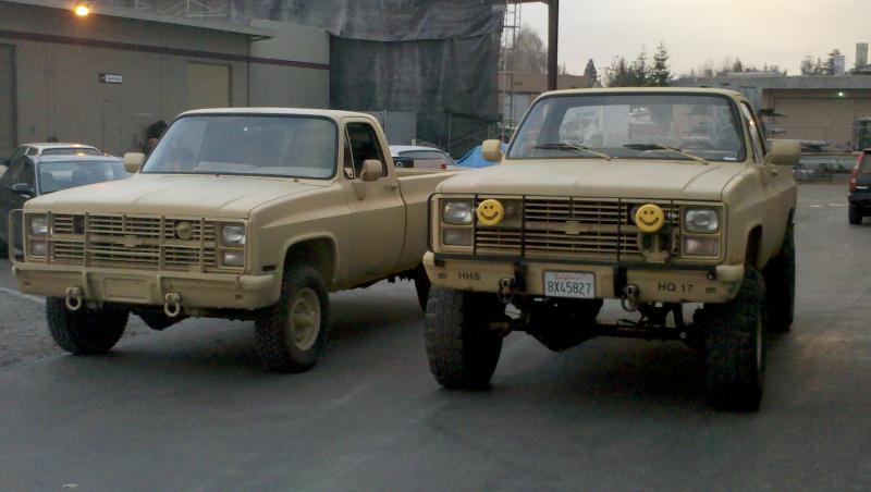 1984 Chevy CUCV M1008