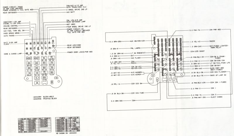 83 Chevy Truck Fuse Block Wiring Diagram - image details on