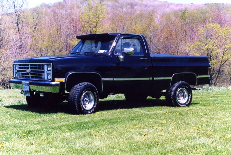 Lifted 1985 Chevy Scottsdale Truck - image details
