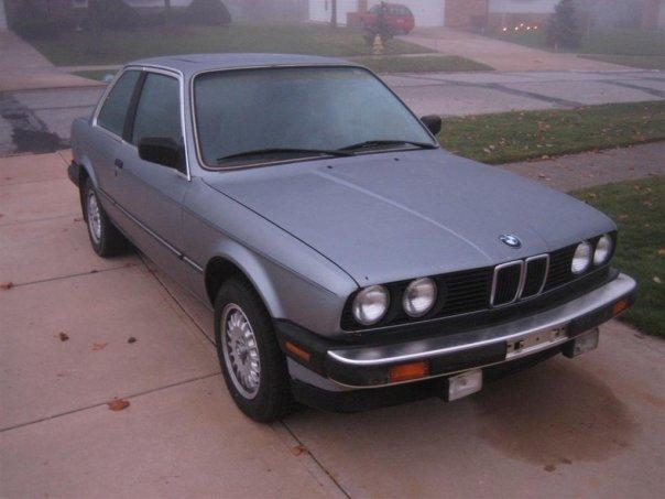1986 BMW 325 Interior