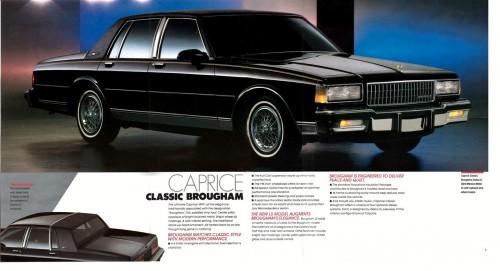1986 Chevrolet Caprice Classic Brougham
