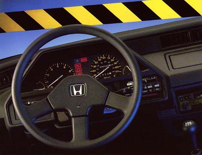 1986 Honda Civic CRX