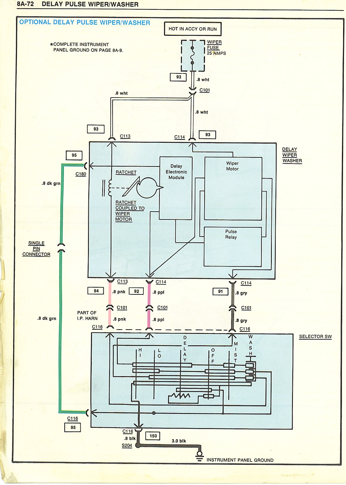 1987 Chevy Truck Wiper Motor Wiring Diagram - 15.awe.capecoral ...