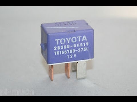 1988 Toyota Pickup Starter Relay Location