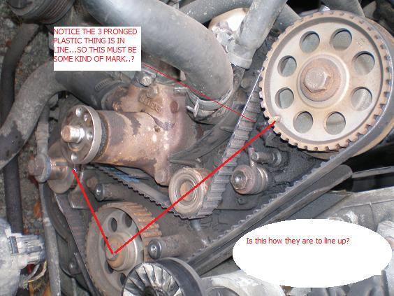 1990 Ford Ranger Engine Timing Belt Tensioner Assembly L4 2.3 (Genuine