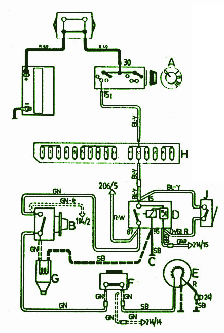 1990 Volvo 240 Fuse Box Diagram