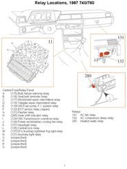 1990 Volvo 740 Turbo Fuel Pump Relay Location